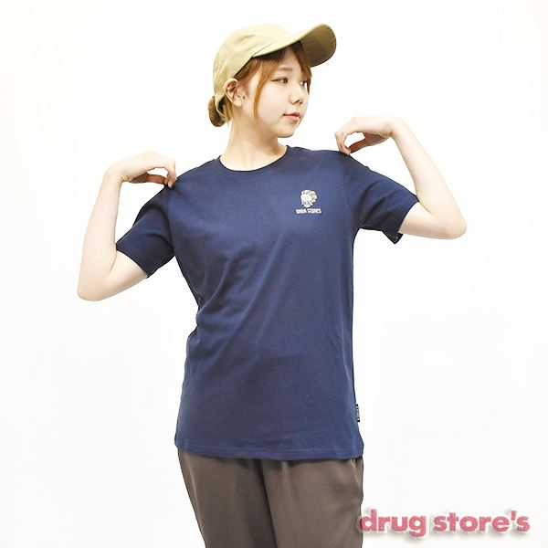 "drug store's T-SHIRT&SOXセット""ネイティブSTANDY"" Tシャツ"